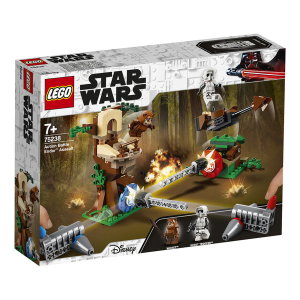 LEGO® Star Wars 75238 Action Battle Endor Attacke
