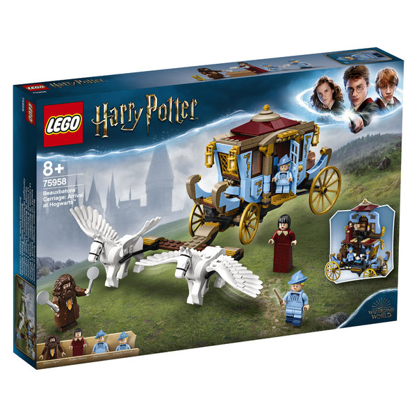 LEGO® Harry Potter 75958 Beauxbatons Kutsche: Ankunft in Hogwarts