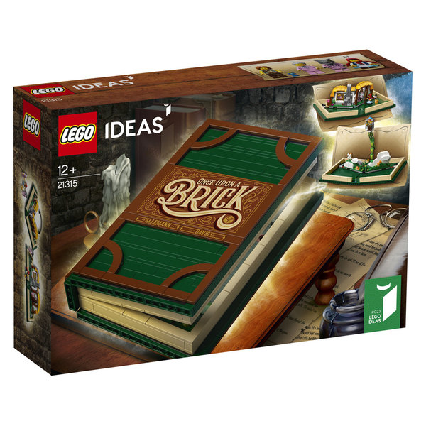 LEGO® Ideas 21315 Pop-Up-Buch