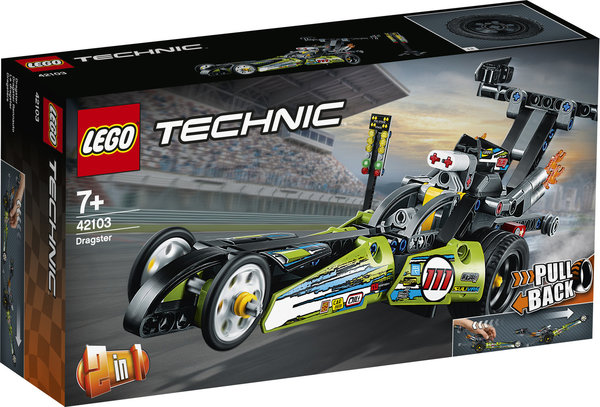 LEGO® Technic 42103 Dragster Rennauto
