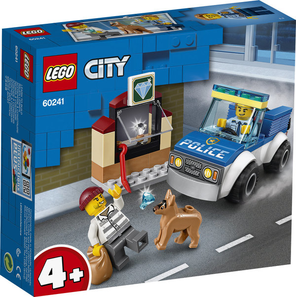 LEGO® City 60241 Polizeihundestaffel