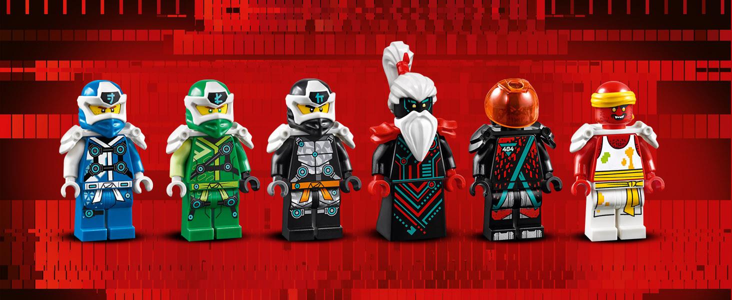 Prime Empire LEGO® Ninjago Figur Bösewicht aus Set 71712 Tempel des Unsinns