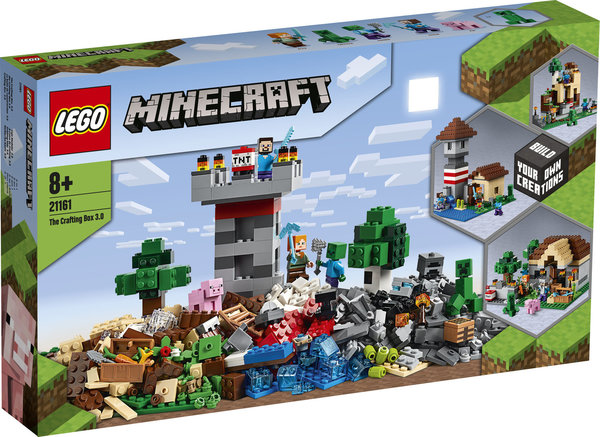 LEGO® Minecraft 21161 Die Crafting-Box 3.0