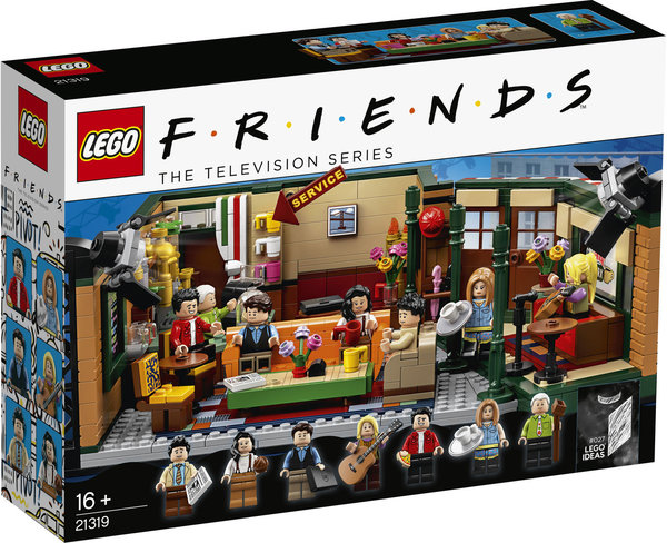 LEGO® Ideas 21319 FRIENDS Central Perk Café