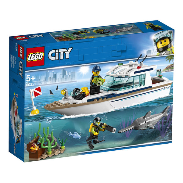 LEGO® City Great Vehicles 60221 Tauchyacht