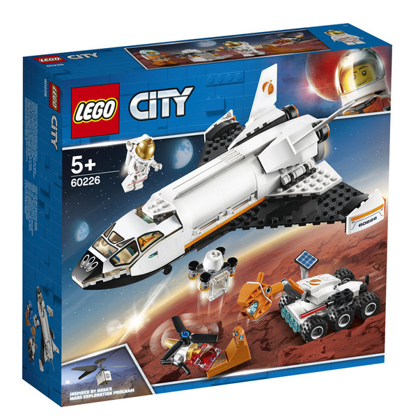 LEGO® City 60226 Mars-Forschungsshuttle