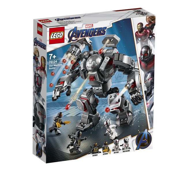 LEGO® Marvel Avengers 76124 War Machine Buster