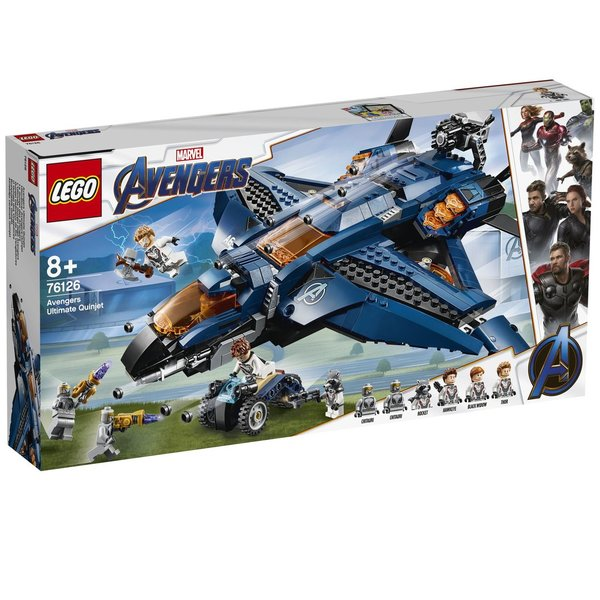 LEGO® Marvel Avengers 76126 Ultimativer Avengers-Quinjet